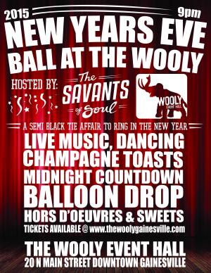 New Years Eve Ball at The Wooly