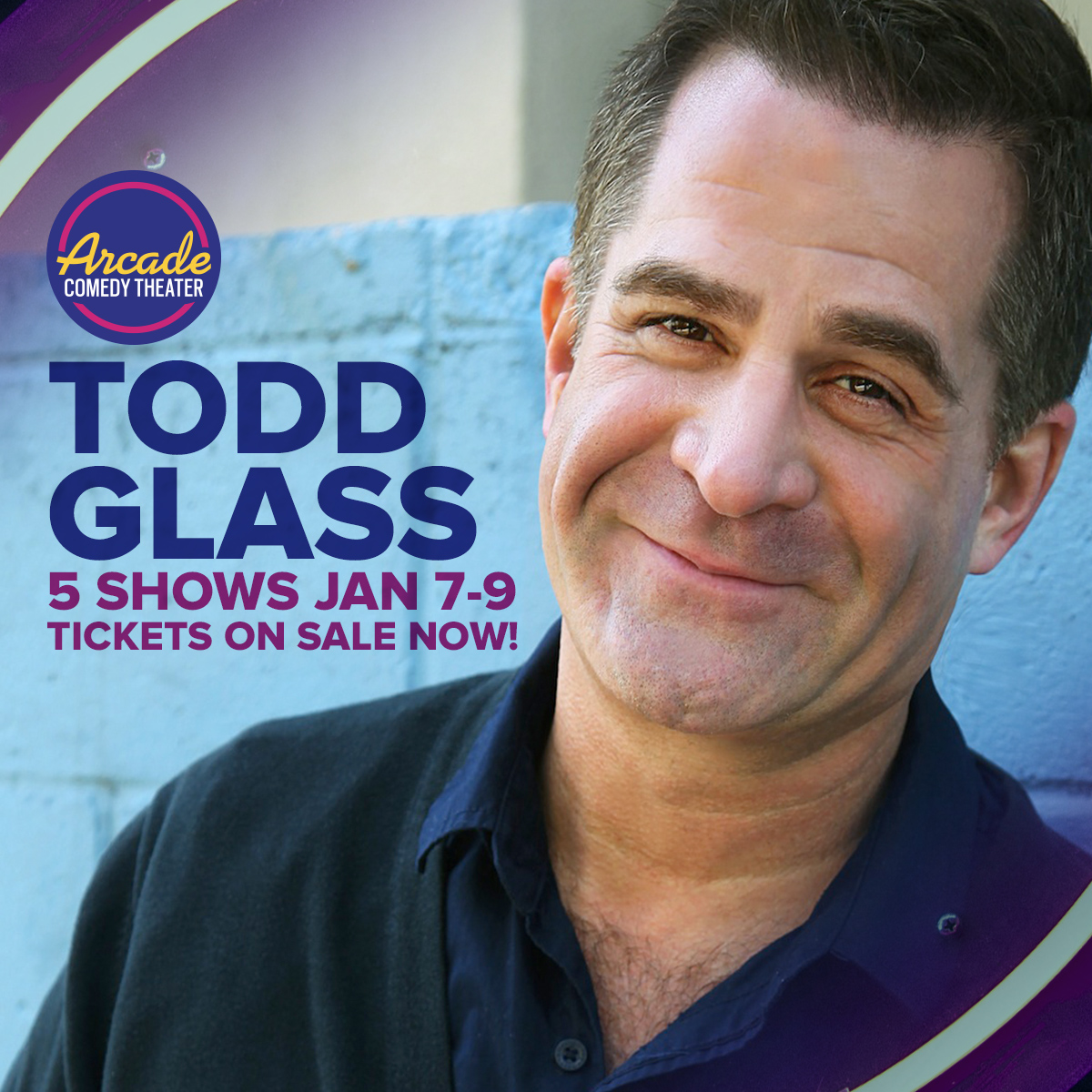 Todd Glass at Improv