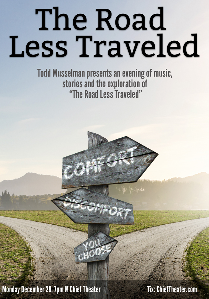 Road Less Traveled >> Tickets For Todd Musselman The Road Less Traveled In Steamboat