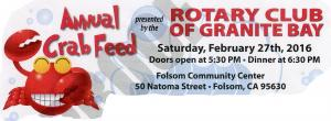 Granite Bay Rotary Foundation Annual Crab Feed