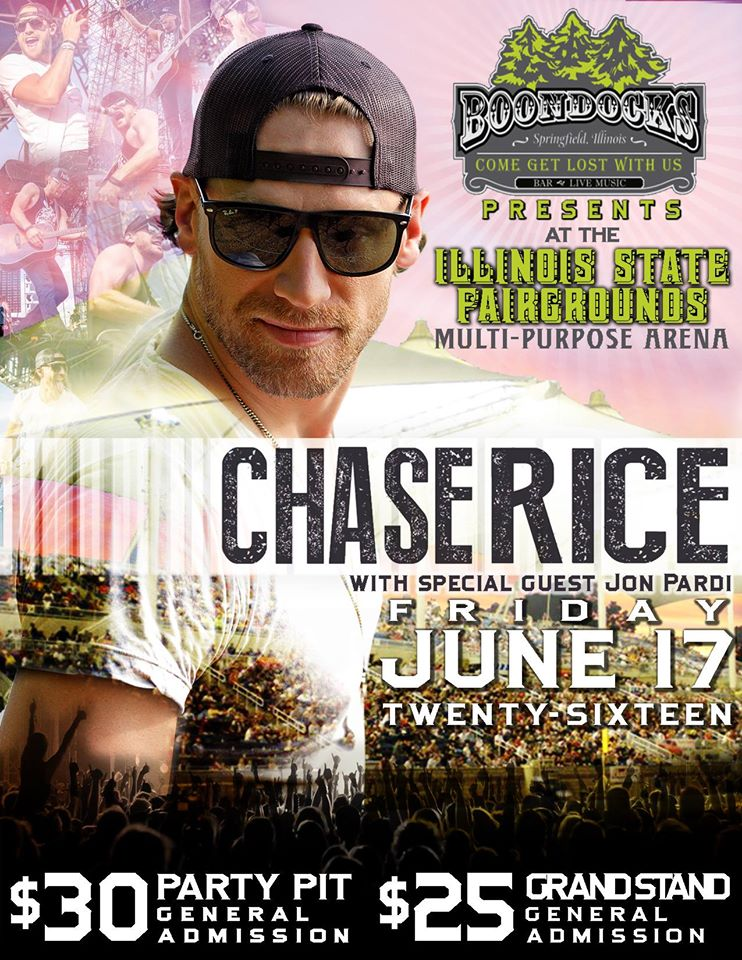 Boondocks Presents Chase Rice W Jon Pardi