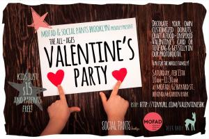 Family Valentine's Day Bash with Social Pants