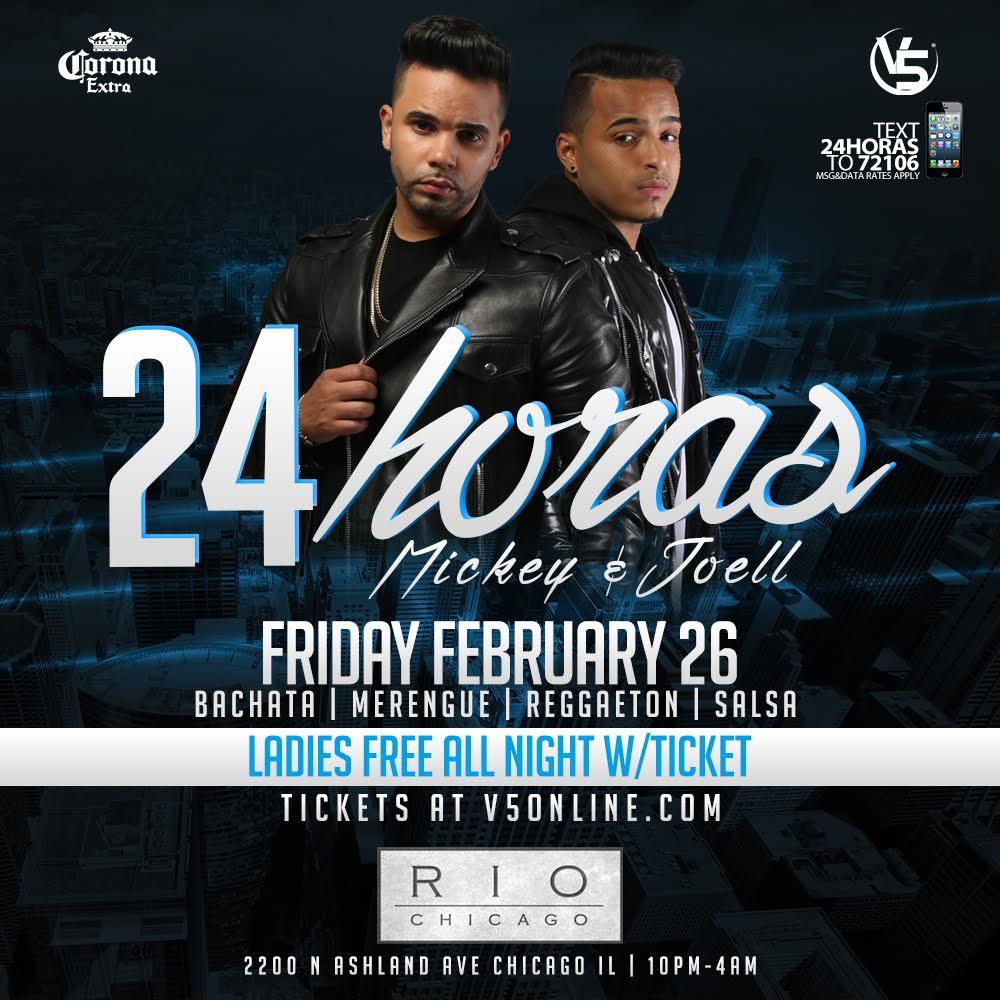 V5 Presents 24 HORAS Live