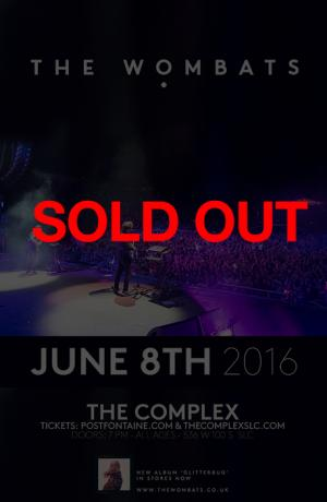 The Wombats - SOLD OUT