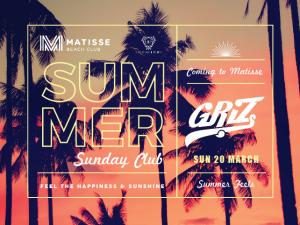 Summer Sunday Club feat GRiZ