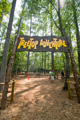Tickets for full moon treetop adventure tour in pine mountain from showclix for Callaway gardens treetop adventure