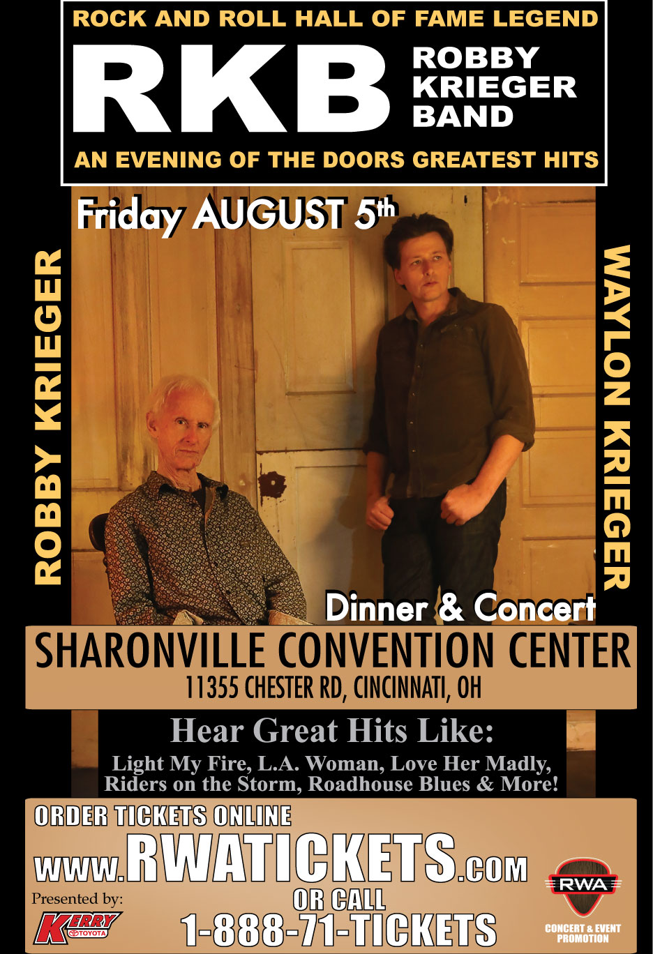 Tickets For Robby Krieger Of The Doors In Cincinnati From Showclix