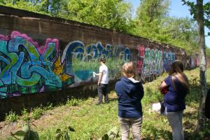 Urban Art Tour at Carrie Furnaces