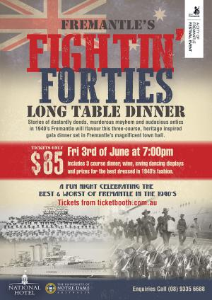 Tickets For Fremantle S Fightin Forties In Fremantle From