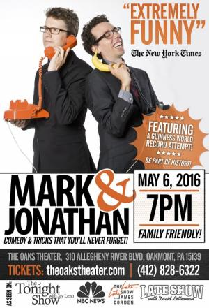 Mark & Jonathan Family Friendly Comedy & Tricks