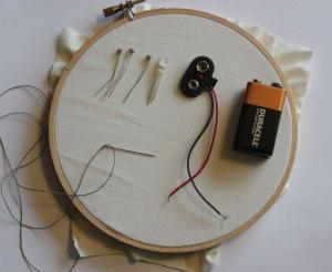 CAC Makerspace: Sewn Circuits