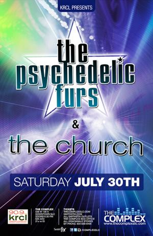 The Psychedelic Furs & The Church