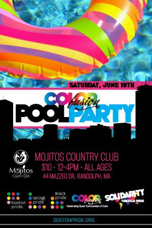 Color Fusion Pool Party