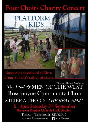 Four Choirs Platform Kids Charity Concert