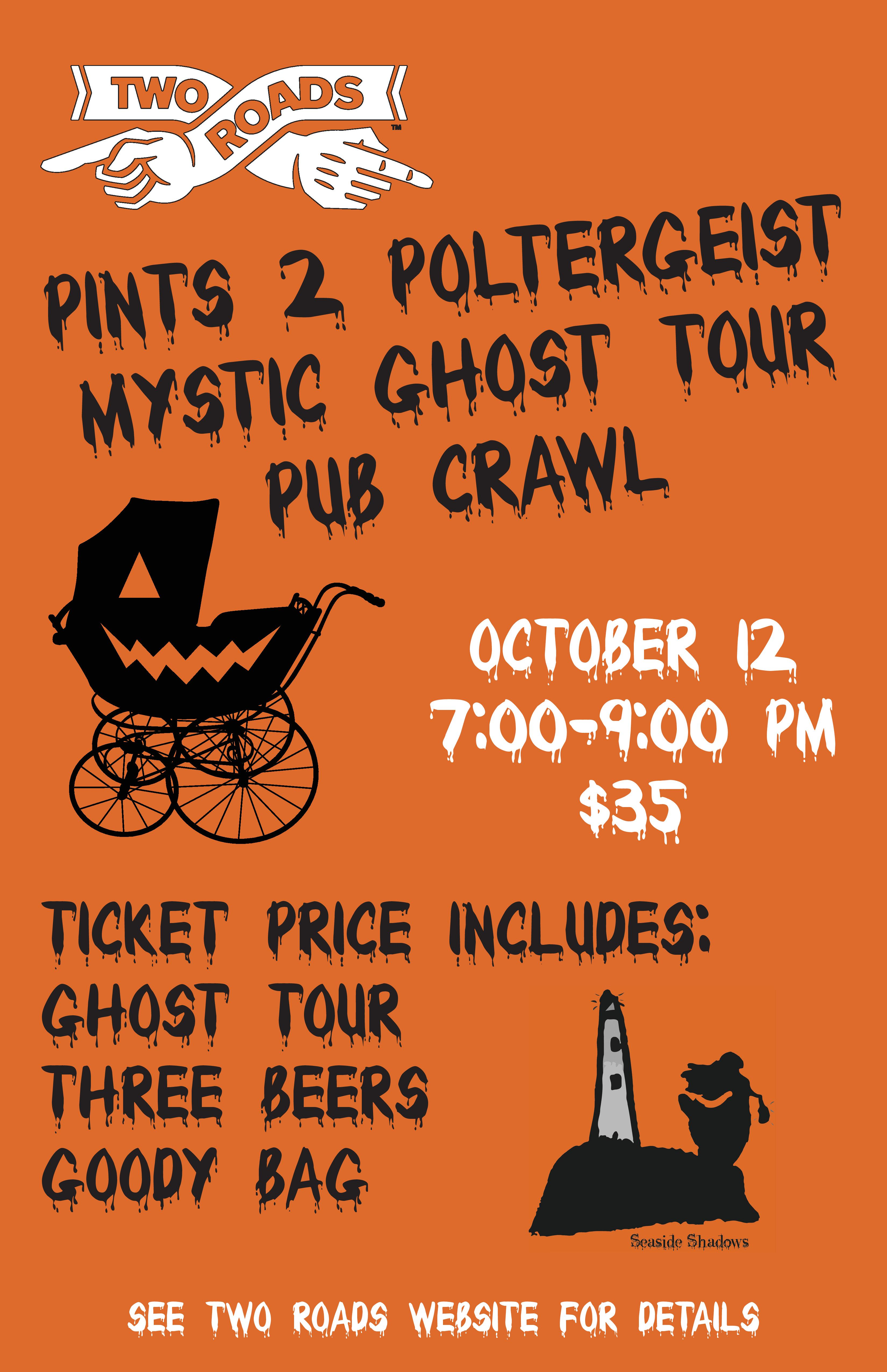 Engine Room Mystic Ct: Tickets For Pints To Poltergeist In Mystic From BeerFests.com