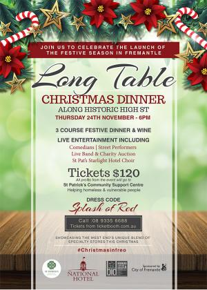 Tickets For Long Table Dinner In Fremantle From Ticketbooth