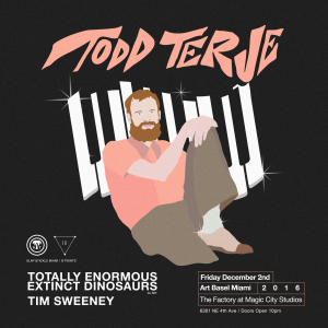 Todd Terje-TEED DJ Set-Tim Sweeney-Art Basel Miami