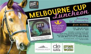 Melbourne Cup Day Luncheon