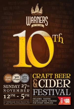 Warners Beer & Cider Festival
