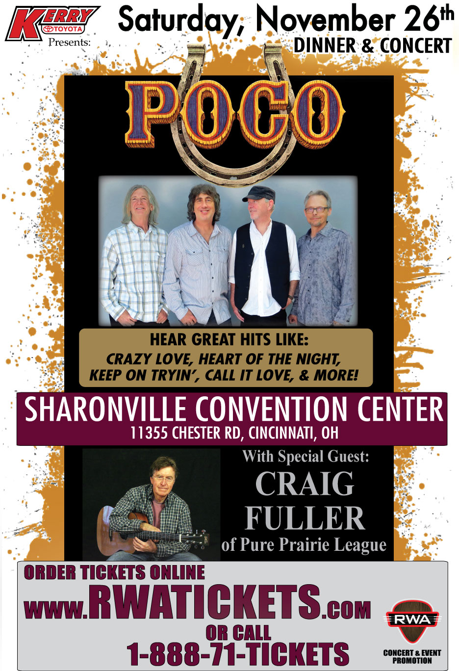 Tickets for POCO with Special Guest Craig Fuller in Cincinnati from