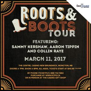 Roots and Boots Tour 2017