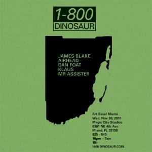 1-800-Dinosaur: III Points Art Basel