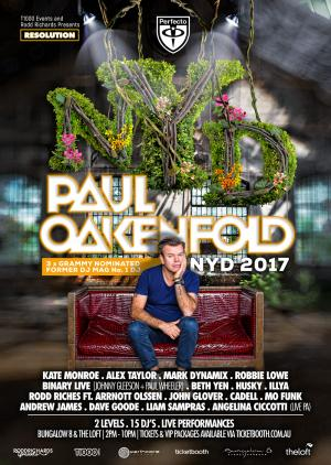 RESOLUTION NYD ft. Paul Oakenfold