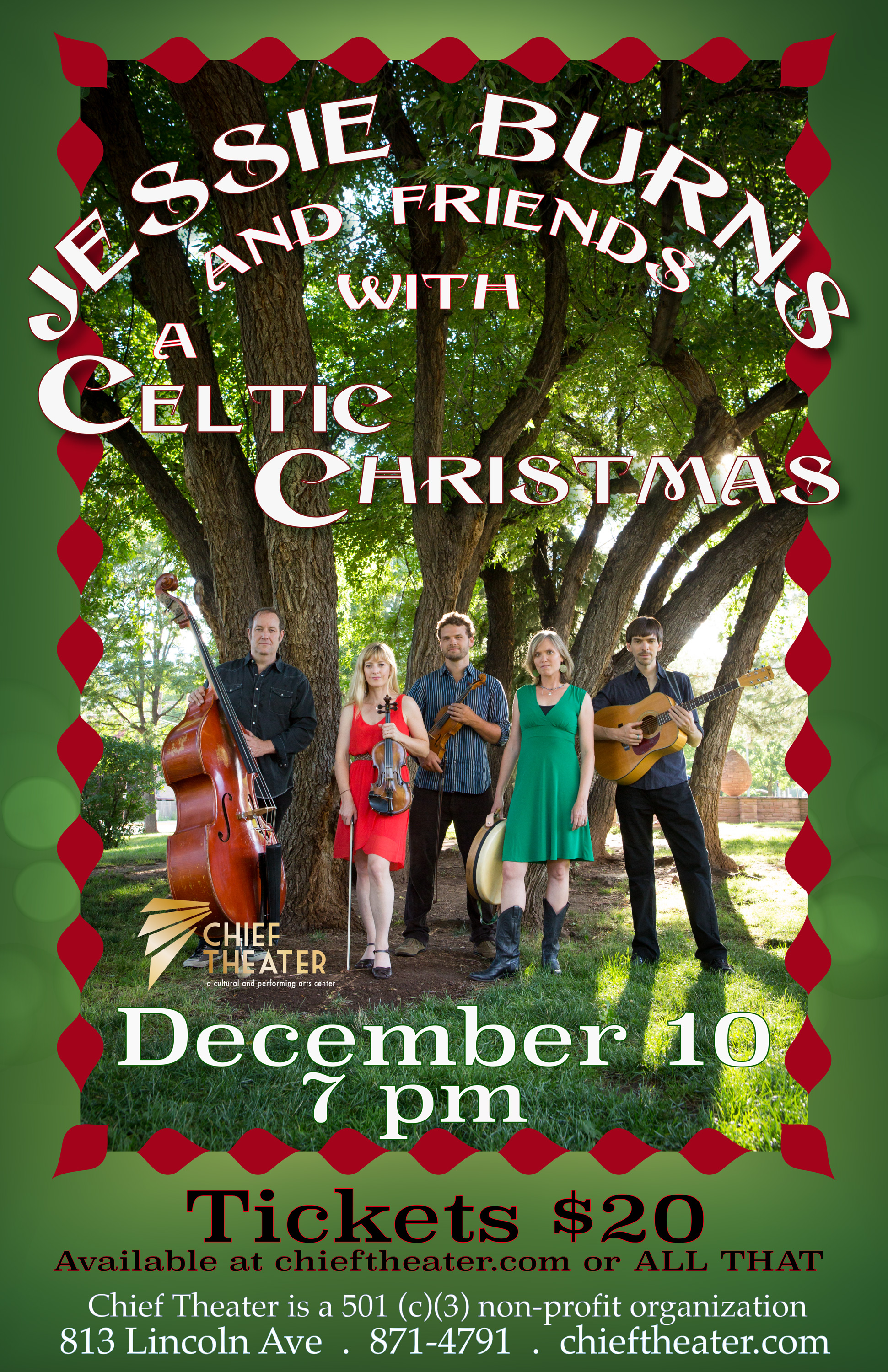 Tickets for Jessie Burns Presents: A Celtic Christmas in Steamboat ...