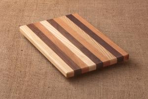 Striped Cutting Board with John Burright
