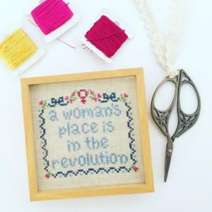 Feminist Cross Stitch Workshop with Amy Bannister