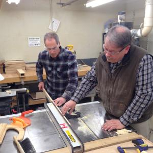 Woodshop Orientation with John Burright