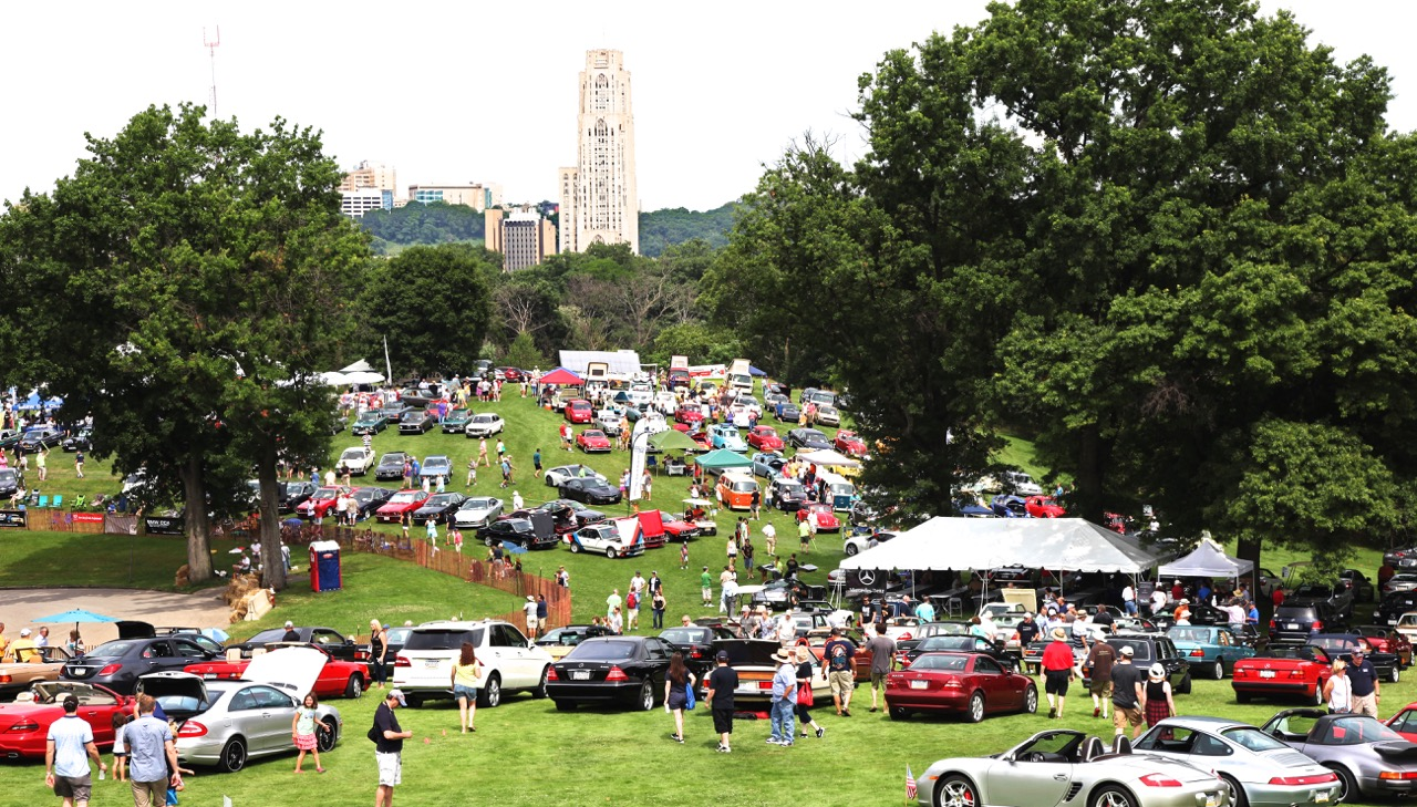 Tickets For International Car Show Schenley Park In - Pittsburgh car show