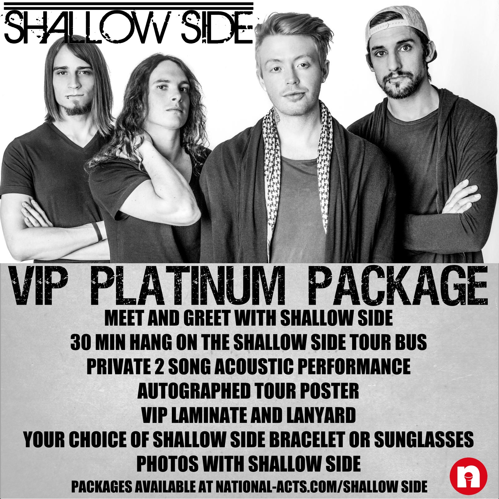 Tickets For Shallow Side Vip Fargo Nd In Fargo From National Acts