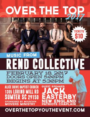 Over The Top Youth Event w Rend Collective