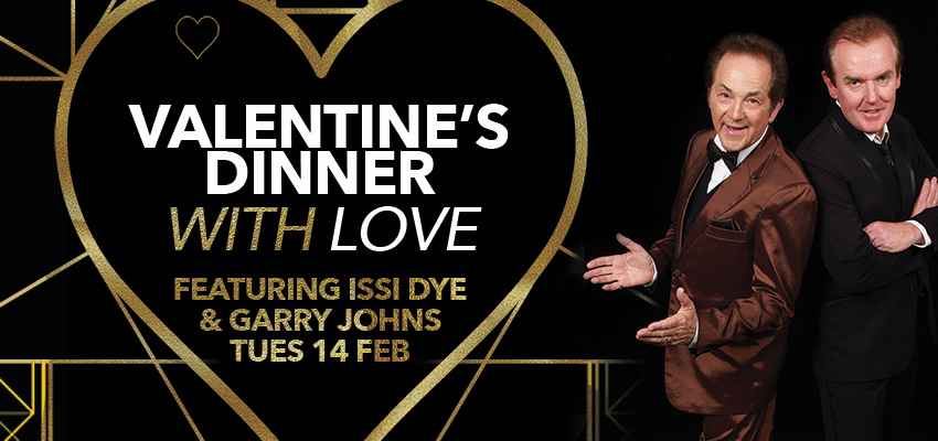Tickets For VALENTINES DINNER WITH LOVE In TOORAK From