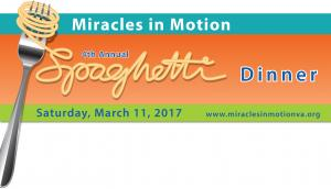 Miracles in Motion's 4th Annual Spaghetti Dinner