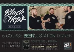 Black Hops BeerGustation Dinner