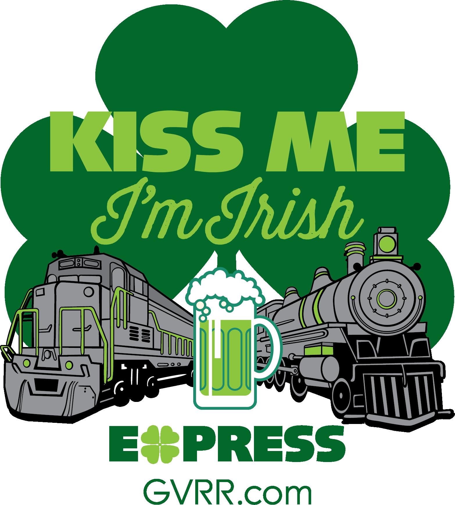 tickets for kiss me i u0027m irish express st patrick u0027s day train in