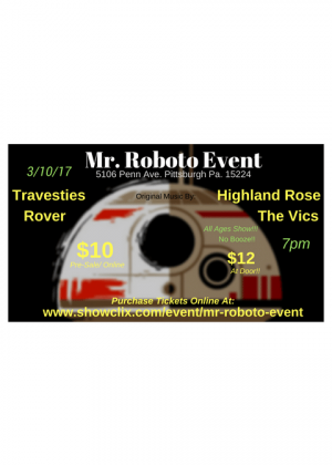Mr. Roboto Event