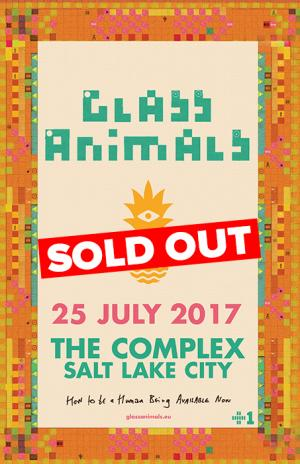 Glass Animals - SOLD OUT