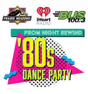 Prom Night Rewind: the Ultimate '80s Dance Party