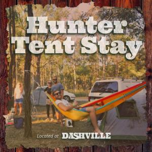 Hunter Tent Stay - Summer 17/18