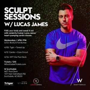 SCULPT SESSIONS W/ LUCAS JAMES: HITT THE POOL DECK