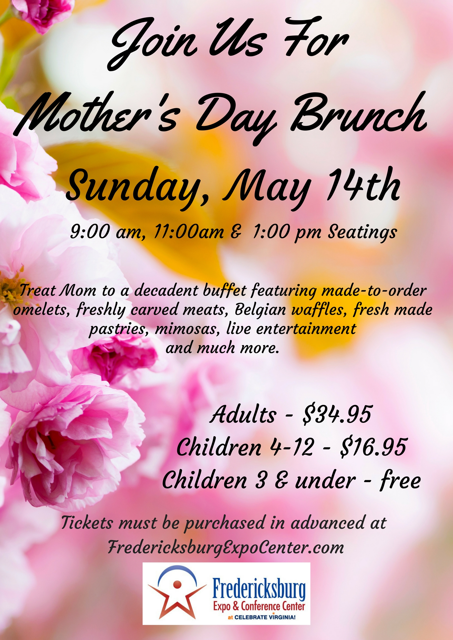 Tickets for Mother's Day Brunch in Fredericksburg from ...