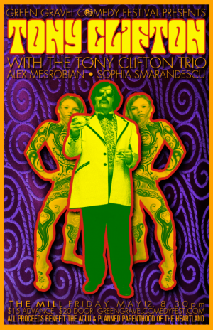 Tony Clifton with The Tony Clifton Trio