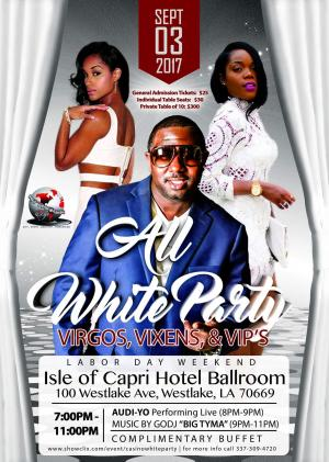 Tickets for All White Party in Westlake from ShowClix