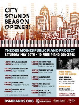 City Sounds 2017 Season Opener Auction