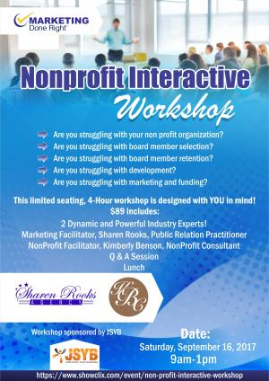 NonProfit Interactive Workshop
