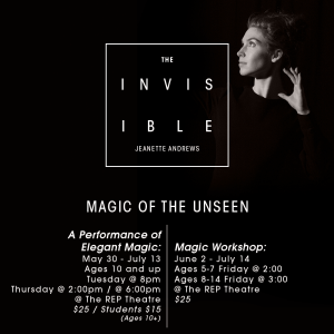 Illusionist Jeanette Andrews | The Invisible