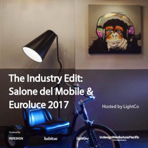 Industry Edit: Salone del Mobile & Euroluce 2017